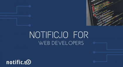 Notific.io web and push notifications