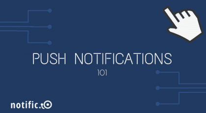 Push notifications for saas web apps
